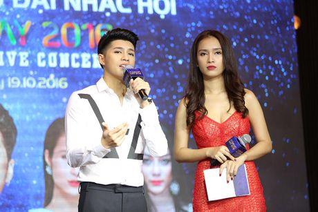 Noo Phuoc Thinh cung Ha Ho, Dong Nhi hua hen bung no trong Dai nhac hoi Funring Day - Anh 7