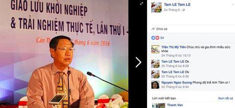 Lam ro viec gia mao ten lanh dao tren facebook - Anh 1