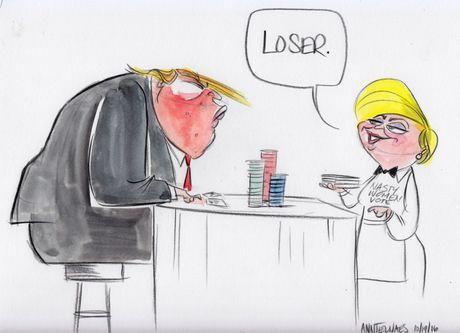 Trump tro thanh 'nguoi dan ba xau tinh' qua tranh biem hoa - Anh 7