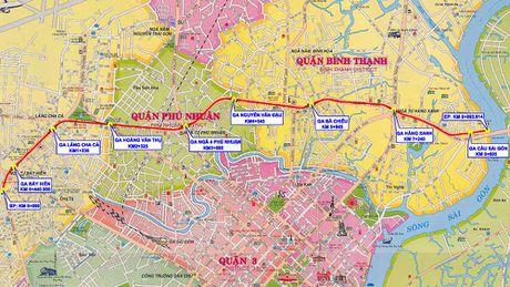 TPHCM trinh Quoc hoi tuyen Metro so 5 giai doan 1 - Anh 1