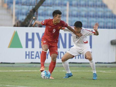 U19 Viet Nam 0-0 U19 Iraq (hiep 1): Canh cua tu ket dang rat rong - Anh 1