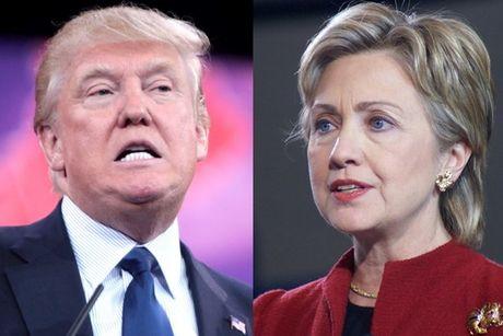 Hau tranh luan lan cuoi, ba Clinton tiep tuc bo xa Donald Trump - Anh 1