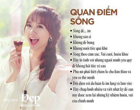 Hari Won: Song la de thuong thuc, hay song tot tung phut tung giay - Anh 1