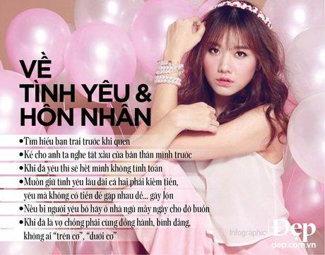 Hari Won: Song la de thuong thuc, hay song tot tung phut tung giay - Anh 3