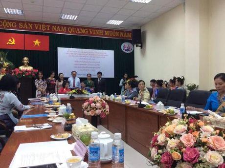 Hoi LHPN TP.HCM va Hoi LHPN Thu do Vieng Chan (Lao) ky ket hop tac giai doan 2016-2021 - Anh 3
