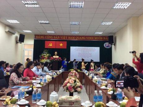 Hoi LHPN TP.HCM va Hoi LHPN Thu do Vieng Chan (Lao) ky ket hop tac giai doan 2016-2021 - Anh 4