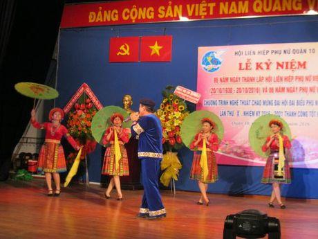 Quan 10: Chao mung thanh cong Dai hoi Dai bieu Phu nu TP - Anh 2
