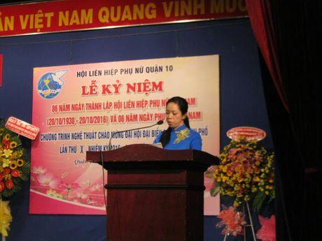 Quan 10: Chao mung thanh cong Dai hoi Dai bieu Phu nu TP - Anh 3