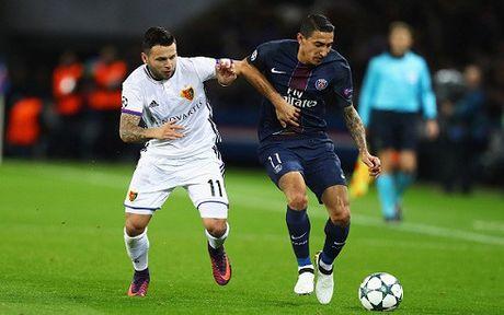 Thang de Basel, PSG tao uu the o Champions League - Anh 1