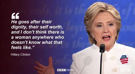 Hillary duoc danh gia nhinh hon Trump trong tran 'so gang' cuoi cung - Anh 7