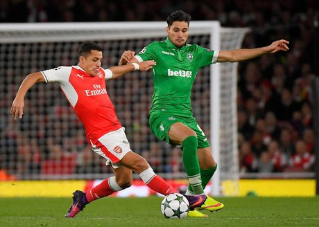 Toan canh chien thang 'huy diet' cua Arsenal truoc Ludogorets - Anh 2