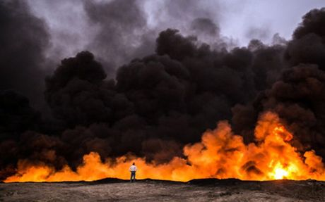 Nhieu chi huy chop bu cua IS thao chay khoi Mosul - Anh 1