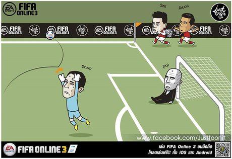 Biem hoa 24h: Pep Guardiola 'om han' vi Claudio Bravo - Anh 1