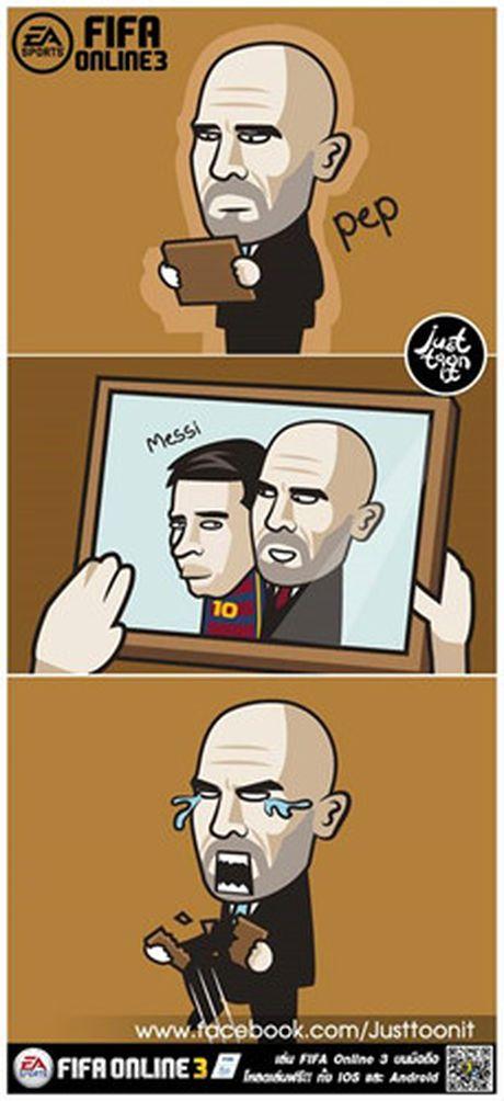 Biem hoa 24h: Pep Guardiola 'om han' vi Claudio Bravo - Anh 2