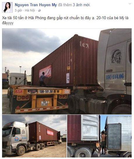 A hau Huyen My dung xe 50 tan cho do cuu tro cho mien Trung - Anh 1