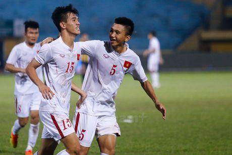 Qua mat lua Cong Phuong, U19 Viet Nam cach World Cup chi mot tran dau - Anh 1
