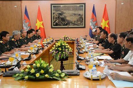 Doi thoai chinh sach quoc phong Viet Nam-Campuchia lan thu 2 - Anh 1
