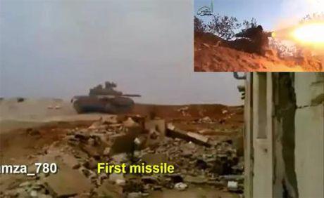 Ten lua Tow bat luc truoc tang T-72: My hoc gi? - Anh 1