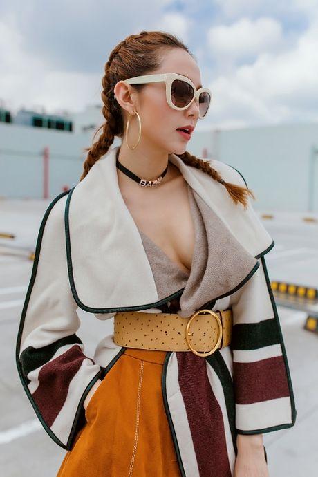 Minh Hang dep xuat sac giua 'nui' do hieu khung - Anh 4