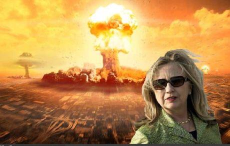 Ba Clinton 'lo' tiet lo bi mat ten lua hat nhan My - Anh 1