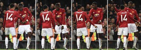 Chum anh: Pogba - Lingard thang hoa, Man Utd vui dap Fenerbahce tai Old Trafford - Anh 9