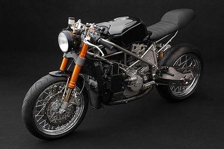 Sieu moto Ducati 999S 'sieu chat' phong cach cafe racer - Anh 1
