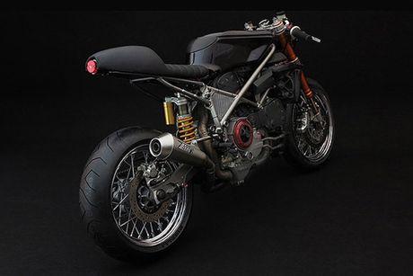 Sieu moto Ducati 999S 'sieu chat' phong cach cafe racer - Anh 2