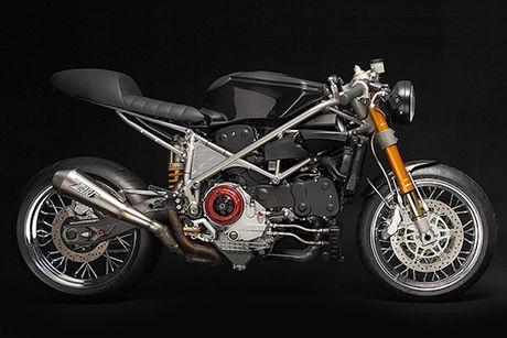 Sieu moto Ducati 999S 'sieu chat' phong cach cafe racer - Anh 3