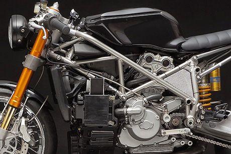 Sieu moto Ducati 999S 'sieu chat' phong cach cafe racer - Anh 8