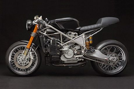Sieu moto Ducati 999S 'sieu chat' phong cach cafe racer - Anh 9