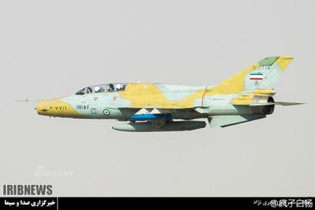 Muc kich may bay Khong quan Iran xuat kich ram ro - Anh 1