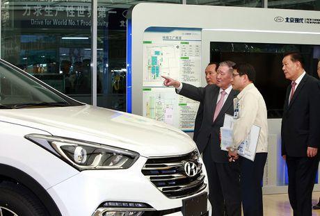 Hyundai mo them nha may lap rap thu 4 tai Trung Quoc - Anh 2