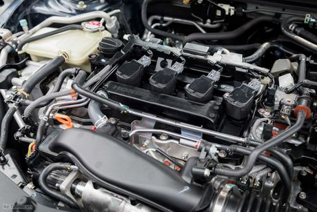 Lan dau lai Honda Civic 2016 - 1.5L VTEC Turbo, 170 ma luc, 220 Nm - Anh 3