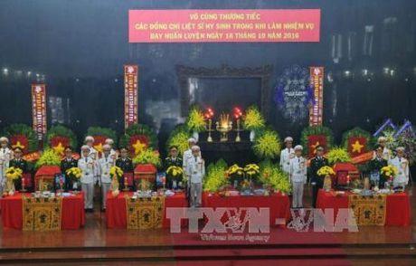 Le tang cac phi cong may bay roi o Ba Ria-Vung Tau - Anh 1