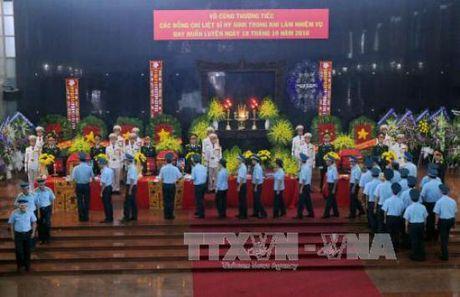 Le tang cac phi cong may bay roi o Ba Ria-Vung Tau - Anh 3