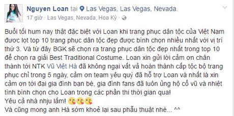 Nguyen Thi Loan lot Top 3 trang phuc dan toc tai HH Hoa binh Quoc te - Anh 2