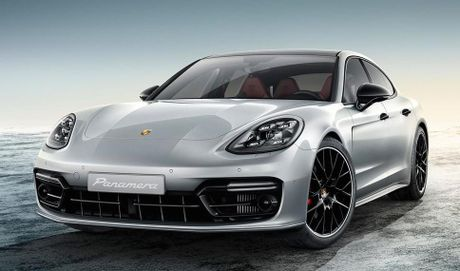Porsche Panamera Turbo 2017 'lo hang' truoc ngay ra mat - Anh 1