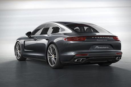 Porsche Panamera Turbo 2017 'lo hang' truoc ngay ra mat - Anh 2