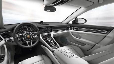 Porsche Panamera Turbo 2017 'lo hang' truoc ngay ra mat - Anh 3