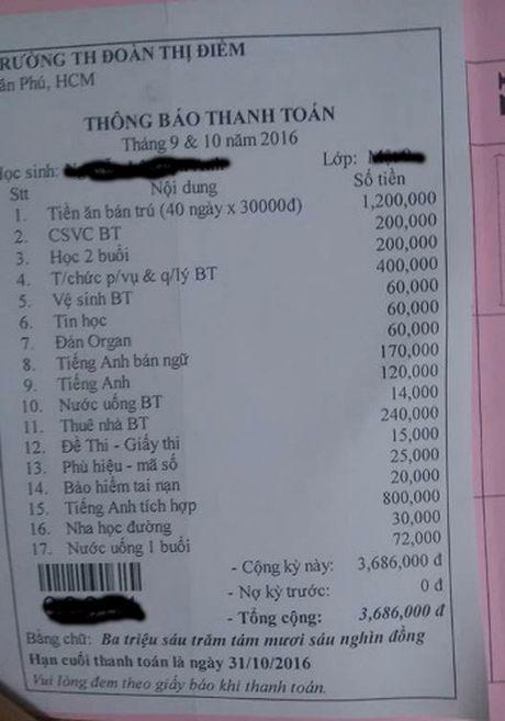 Cha me hoc sinh khoi 1 Truong Doan Thi Diem phai dong gan 4 trieu dong dau nam - Anh 1