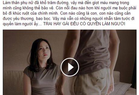 Doan clip 'Trai hay gai deu co quyen lam nguoi' gay bao cong dong mang - Anh 2