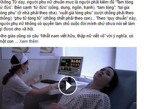 Doan clip 'Trai hay gai deu co quyen lam nguoi' gay bao cong dong mang - Anh 3