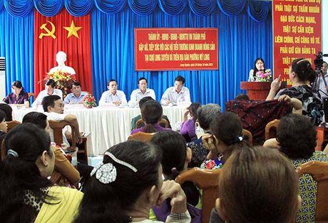 Tieu thuong kinh doanh nong san tai cho cu Long Xuyen chi duoc ban le - Anh 1