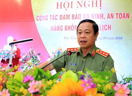 Hoi nghi cong tac dam bao an ninh, an toan hang khong va du lich - Anh 1