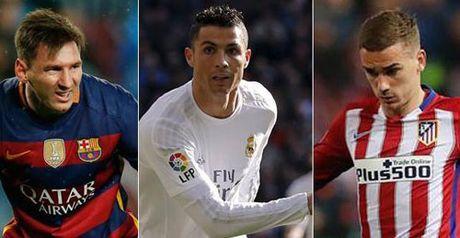 La Liga truoc vong 9: Real cho chiem lai ngoi dau - Anh 1