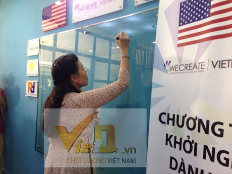 Wecreate - Trung tam Doanh nghiep Nu gioi ra mat tai Viet Nam - Anh 3