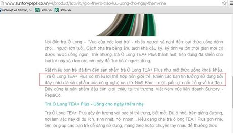 Giat minh: San pham cua PepsiCo Viet Nam khong co noi san xuat - Anh 2