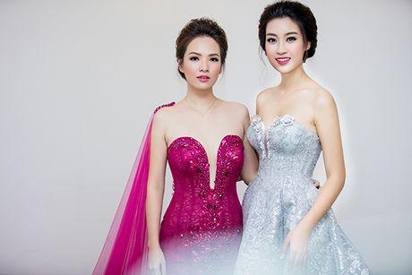 Hoa hau Do My Linh lam co dau long lay - Anh 6