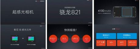 Ro ri toan bo thong so Xiaomi Mi Note 2: camera kep 23MP/12MP, cam bien mong mat - Anh 1