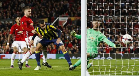 Manchester United 4-1 Fenerbahce : Pogba 2 lan no sung - Anh 1